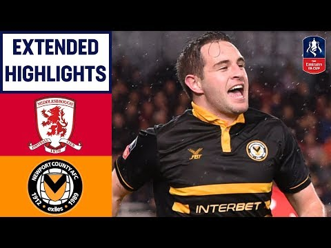 Newport EXTRA TIME Goal Earns Replay! | Middlesbrough 1-1 Newport | Emirates FA Cup 2018/19