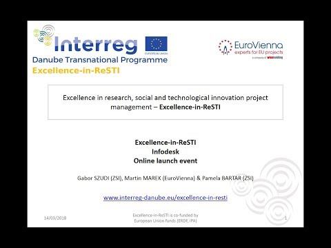 Excellence in ReSTI Infodesk Online Launch Event