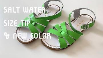 [쇼핑하울] 여름샌들 추천ㅣ솔트워터 사이즈 비교 & 팁ㅣSALT WATER SANDAL