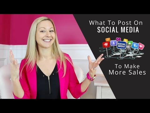 Social Media Marketing Tips:How To Post On Social Media To Make More Sales