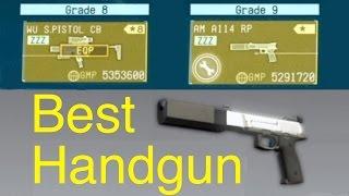 MGSV Phantom Pain - Best Handguns - AM A114 RP Metal Gear Solid 5
