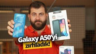 Galaxy A50'yi Spigen ile Zırhladık!