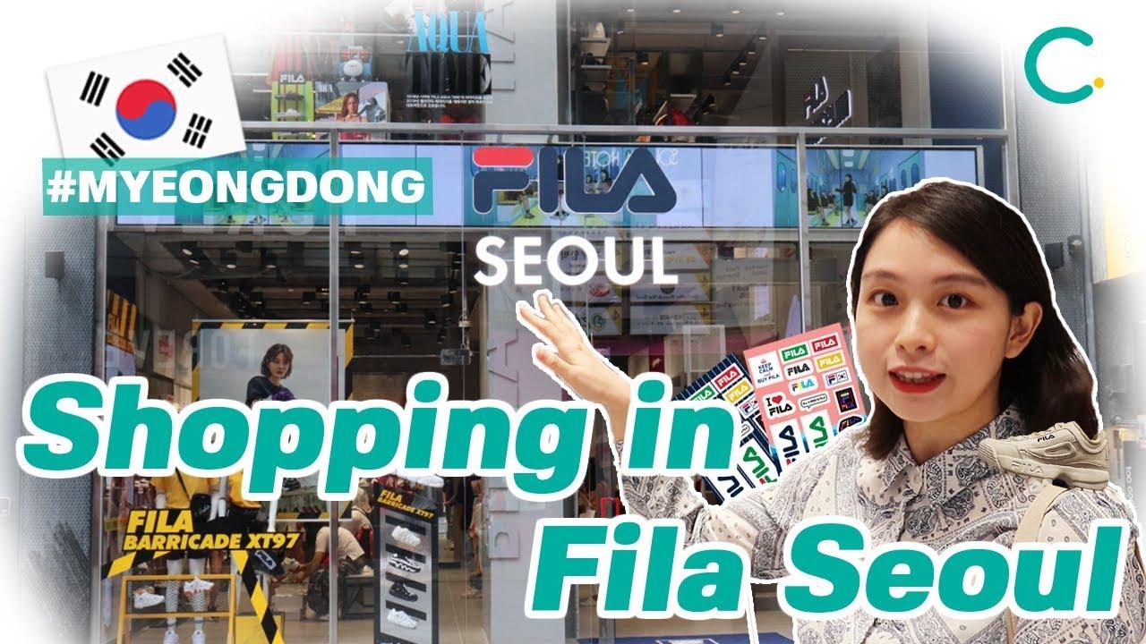 Creatrip  [5FILA] Seoul, Hongdae, & Myeongdong FILA Store