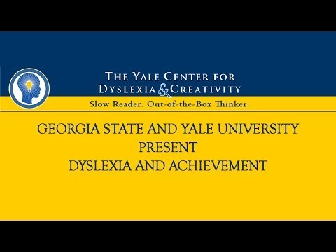 Yale Center for Dyslexia video