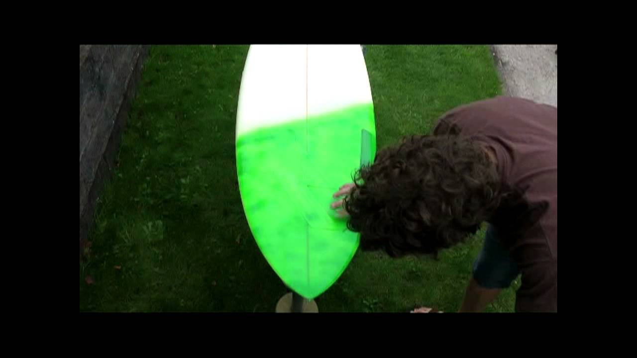 spray paint design on surfboard youtube