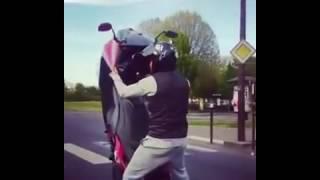 CROSS BITUME - superbe wheeling en T-MAX
