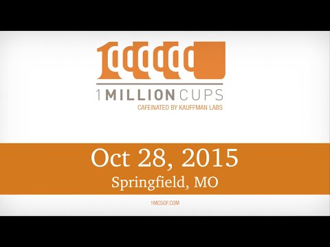 1 Million Cups--Springfield--Aspen and Arts & Letters--Oct 28, 2015