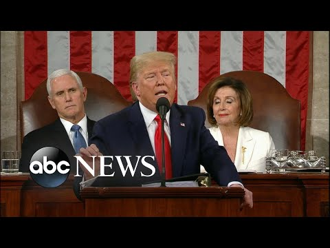Trump discusses health care l State of the Union 2020 | ABC News