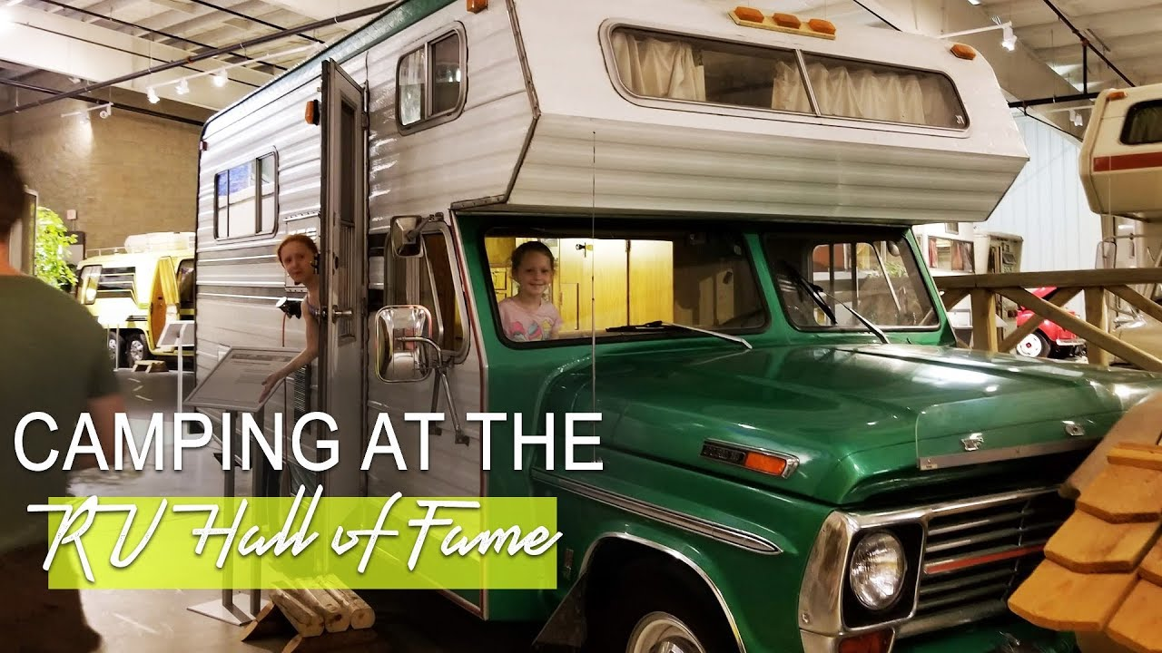Rv Hall Of Fame >> Free Camping At The Rv Hall Of Fame Full Time Rv Living With Kids