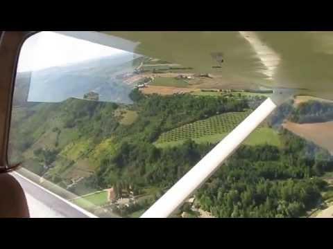 Landing in San Marino