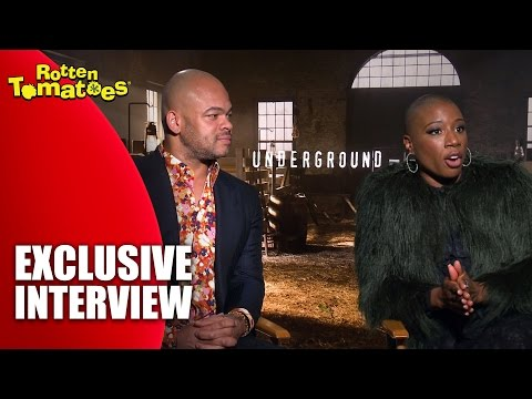 Cast Discusses Season 2 - Exclusive 'Underground' Interview (2017)