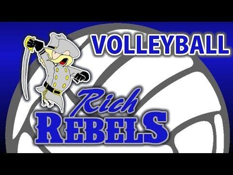 VOLLEYBALL: Rich Rebels vs Evanston Red Devils - Gold Bracket match 1