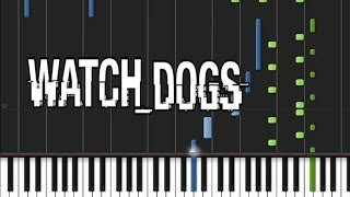 Watch Dogs - Main Title Theme [Easy Piano Tutorial] (♫)