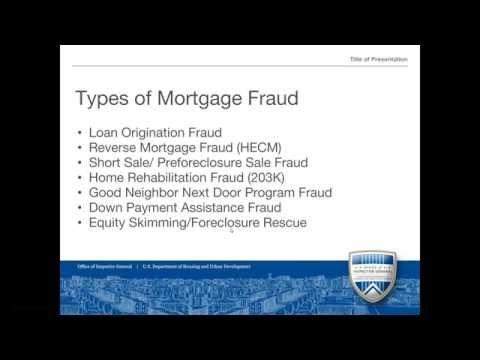 SCR Webinar: Mortgage Fraud in South Carolina