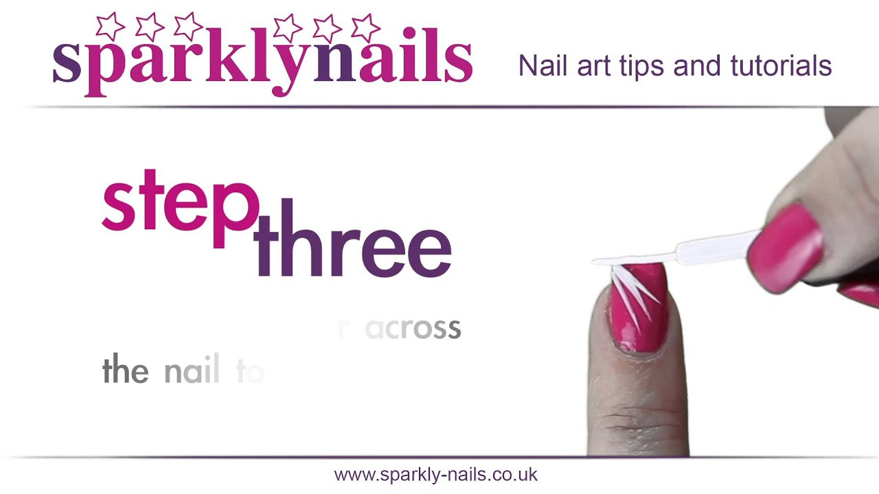 Nail Art Tutorial - How to use nail art stripers - YouTube