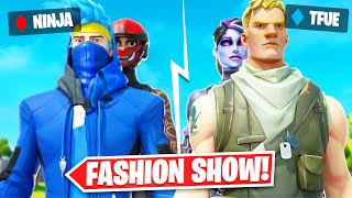 I Hosted A *FAMOUS YOЏTUBERS ONLY* Fortnite Fashion Show (Hilarious)