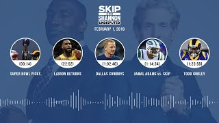 UNDISPUTED Audio Podcast (02.01.19) with Skip Bayless, Shannon Sharpe & Jenny Taft | UNDISPUTED