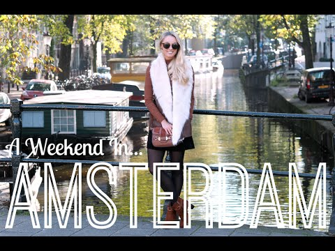 A Weekend in Amsterdam!  |  VLOGTOBER #5  | Fashion Mumblr