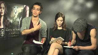 Mybliss meets the stars of The Mortal Instruments
