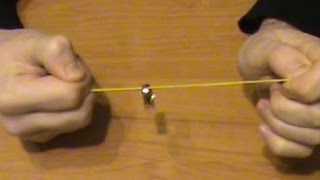 Обучение фокусам Секрет фокуса с кольцом и резинкой