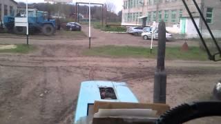 Вождение на тракторе МТЗ