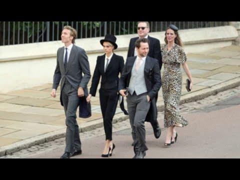 Vestita da uomo al royal wedding di Eugenie: chi è l'invitata più fashion. Ma addio protocollo  | UL