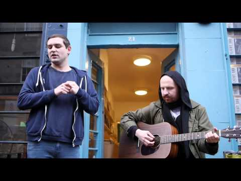 The Twilight Sad live acoustic at Voxbox Records, Edinburgh - 14th Feb