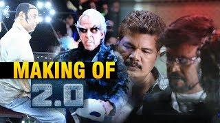 Making of 2.0 rajinikanth | akshay kumar | shankar | a r  rahman | 2.0 trailer | #2point0