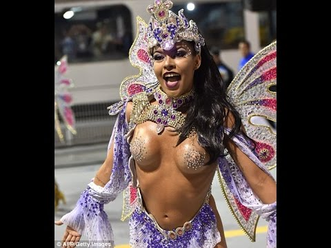 Brazil's Rio Carnival Of Dancing And Wild Costumes Gets Underway Despite Zika Fears!!!