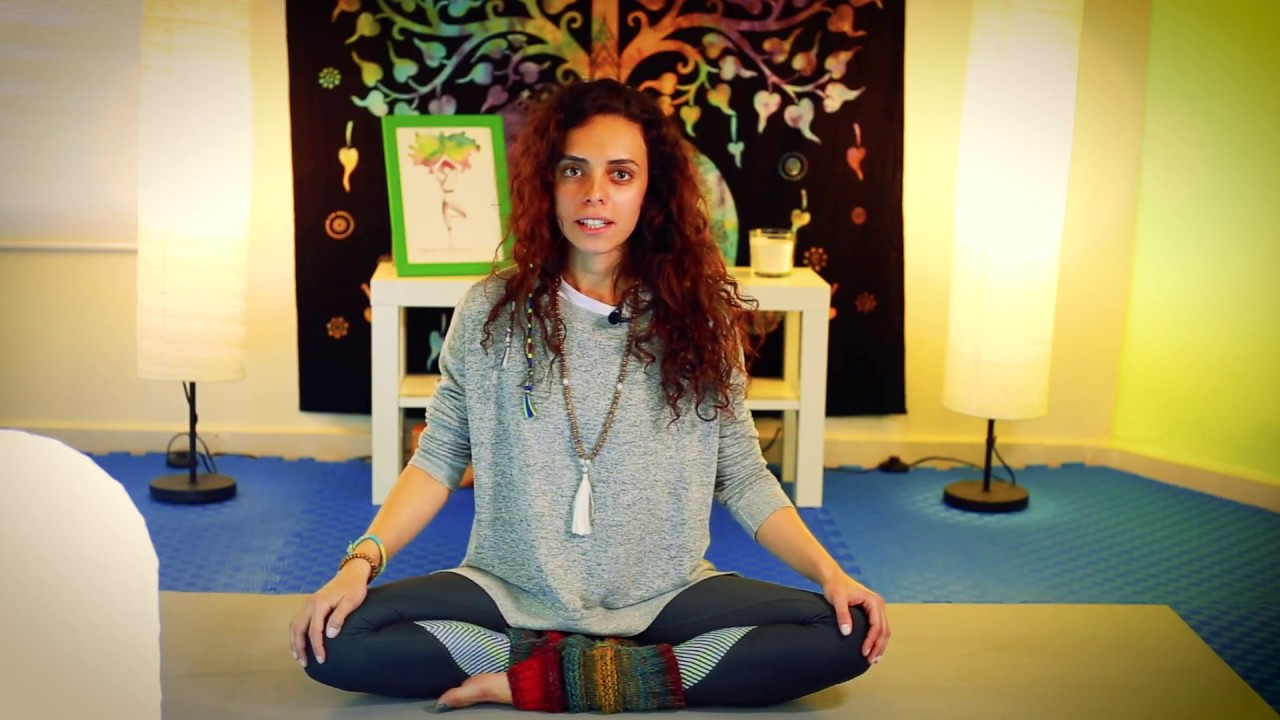 yoga in arabic - يوغا بالعربي