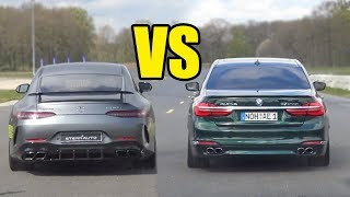 ALPINA B7 BITURBO vs MERCEDES AMG GT63 S -🚀 DRAG RACE🚀