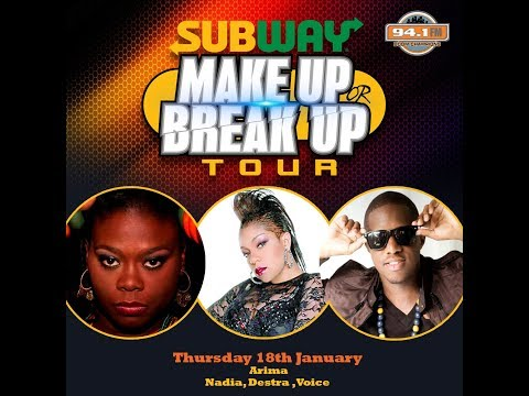 Subway Make Up or Break Up Tour Episode 4 -  Destra, Voice, Moto, Cali Gray