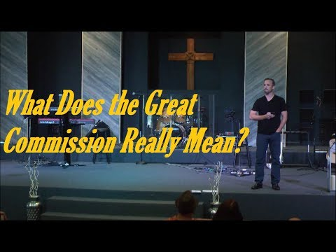 What is the Great Commission Really About?