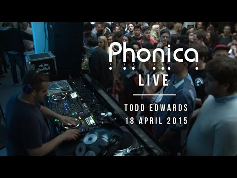 Todd Edwards at Phonica (RSD 2015)