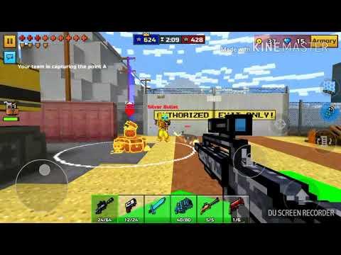 PIXEL GUN 3D:POINT CAPTURE:MINING CAMP