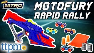 Nerf Nitro Motofury Rapid Rally Set Review - Instructions & Firing Test | Hasbro Toys & Games