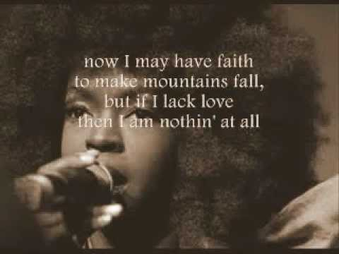 Lauryn Hill - Tell Him (with lyrics on screen)