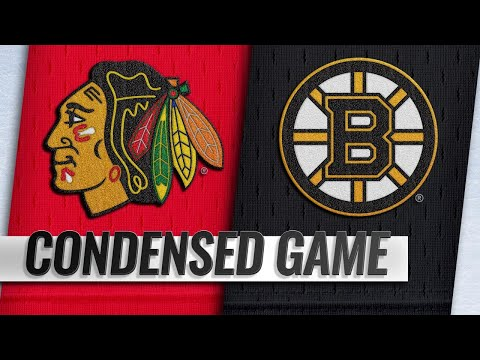 02/12/19 Condensed Game: Blackhawks @ Bruins
