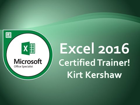 Microsoft Excel 2016: Digital ID And Digital Signatures