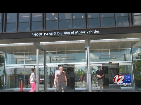 RI DMV Temporary Reservation Process