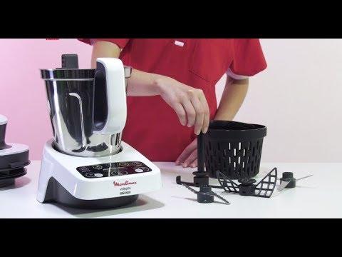 moulinex volupta hf404 robot cuiseur multifonction youtube. Black Bedroom Furniture Sets. Home Design Ideas