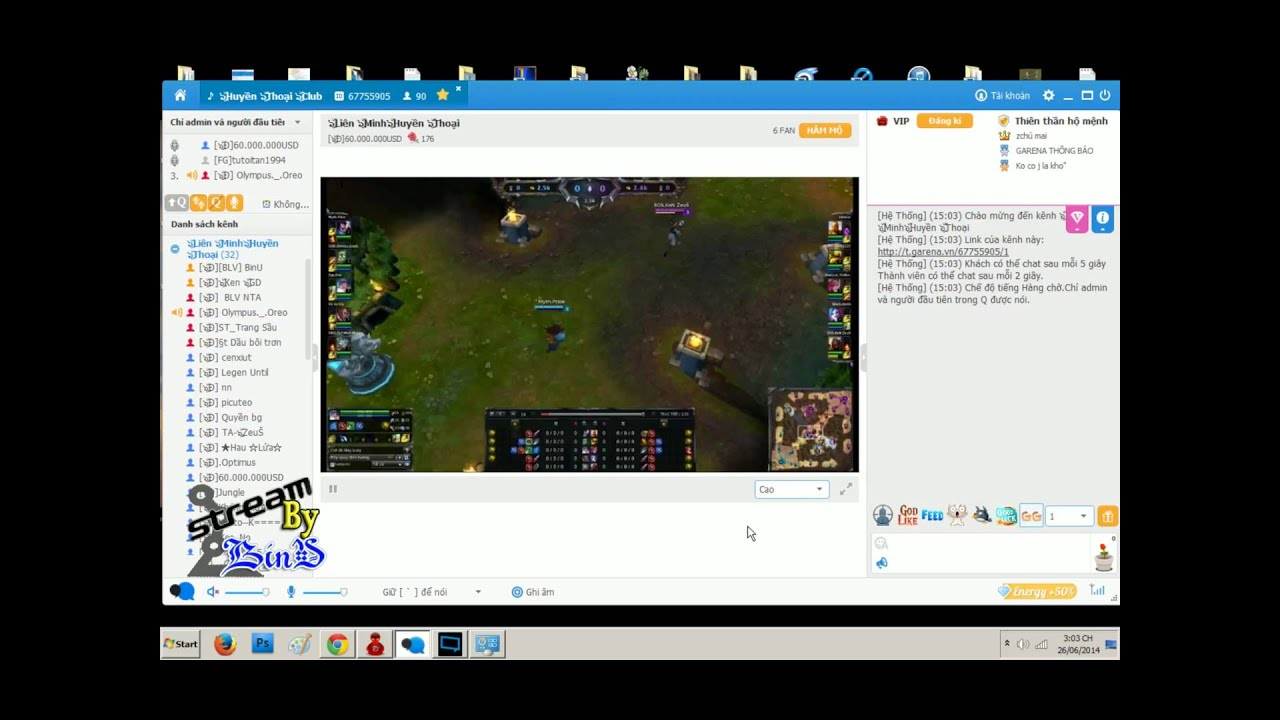 [BinU] Hướng dẫn khắc phục lỗi kết nối stream trên Alo Alo - YouTube