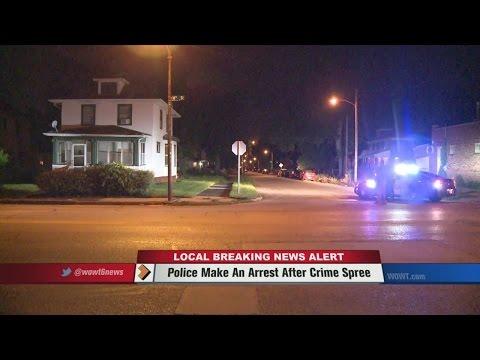 Omaha Police Make An Arrest After Crime Spree