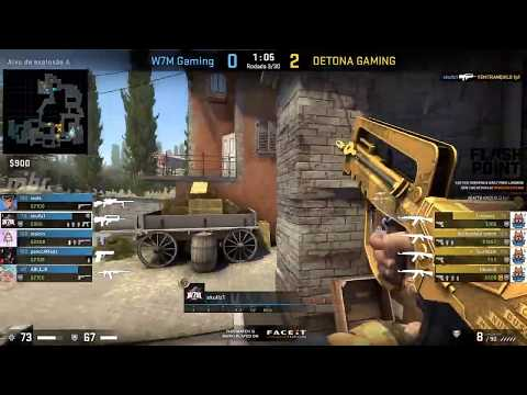 FLASHPOINT SA Closed Qualifier - Detona vs. W7M (Mapa 3 - Inferno) - Narração PT-BR
