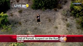Police Pursuit - Armed Suspect Carjacking BMW Wild Pursuit SoCal July 30, 2014