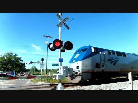 Thumbnail: Amtrak Silver Star Don't Blink You Might Miss It