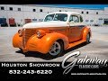 1939 Chevrolet Master 85 Gateway Classic Cars #1491 Houston Showroom