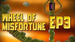 Minecraft Map Playthroughs - Wheel of Misfortune - Ep3 - Mishaps of misfortune!