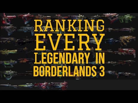 EVERY LEGENDARY GUN IN BORDERLANDS 3 RANKED! BEST WEAPONS IN THE GAME! // Detailed Tier List Part 1!