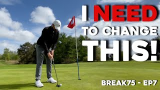 This part of my golf game is TERRIBLE #Break75 - EP7
